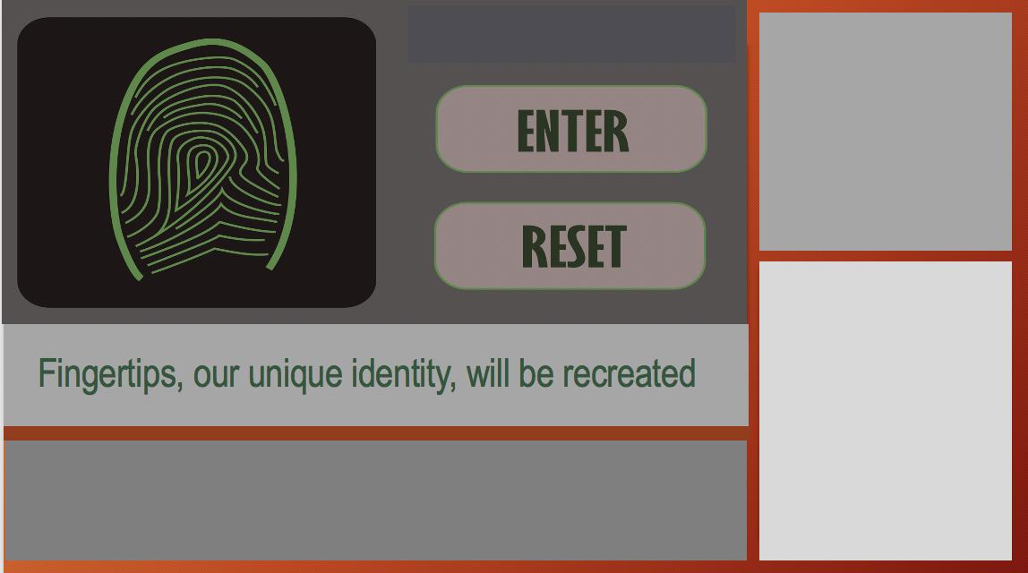 Fingerprint, the unique identifier
