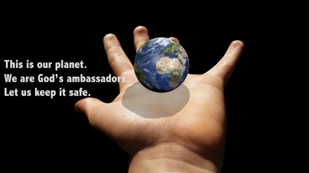 Humans are Gods envoys. qpeace.net