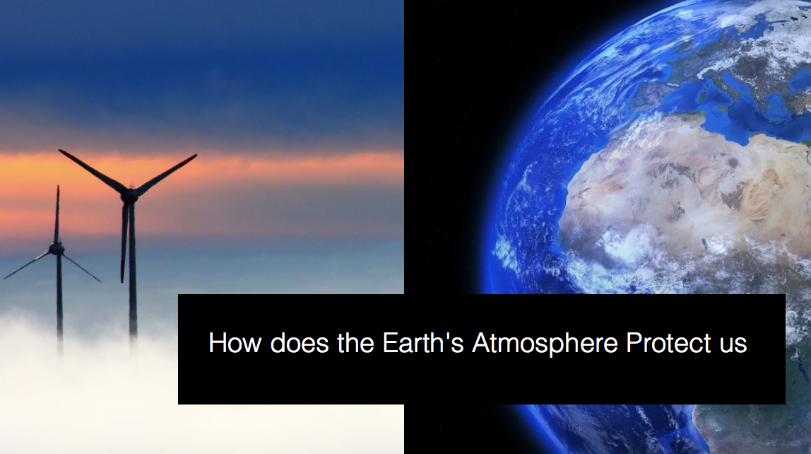 Earth's Atmosphere is Protecting our life