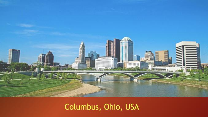 Colombus, Capital of Ohio, USA