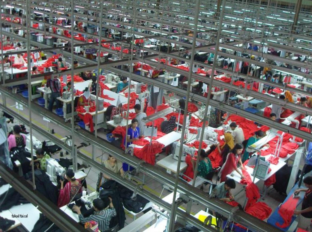 Muslim Countries Around The Globe: Bangladesh. Garment's factory