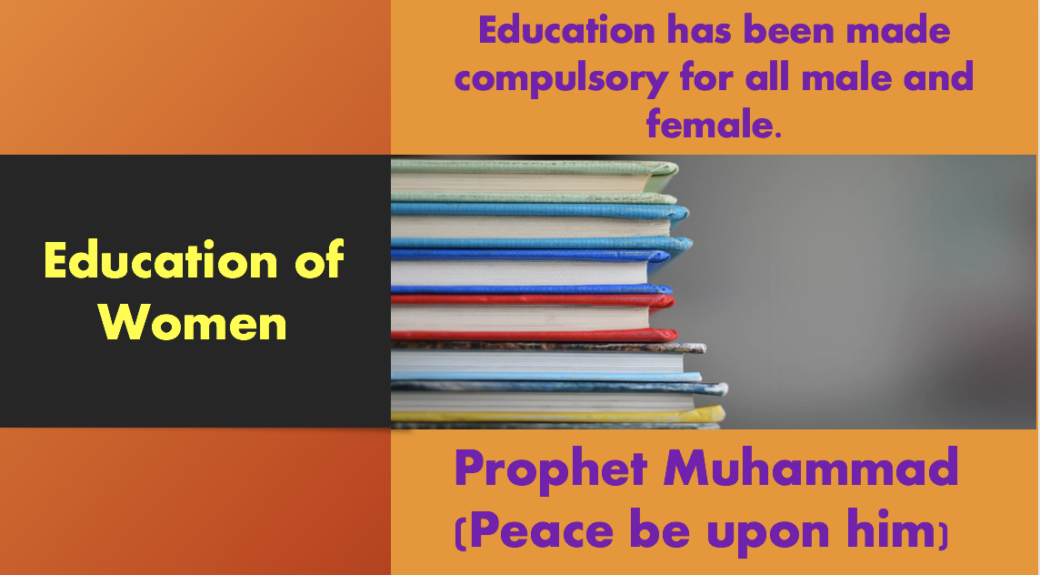 Education is compulsory for all in islam. picture from Unsplash, free download.