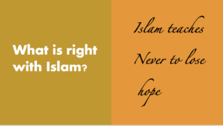 What is right about Islam