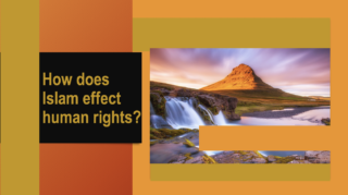 How does Islam view human rights
