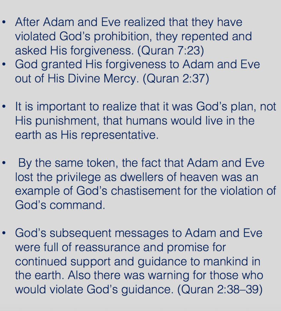 Adam and Eve fell for Satan's deception. https://qpeace.net