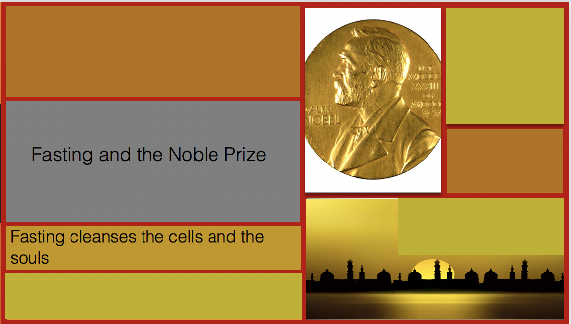 The Nobel Prize in Medicine and Fasting