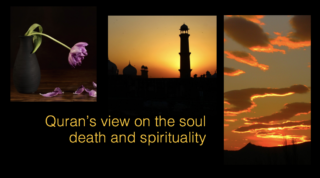 Quran's view on the soul death and spirituality